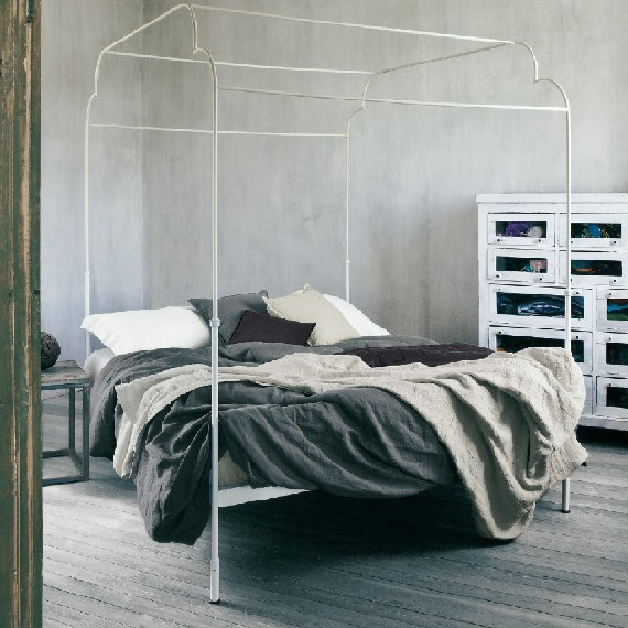Parure letto puro lino art soffio fazzini federighi for Fazzini arredamenti