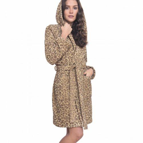 Accappatoio Leopardato