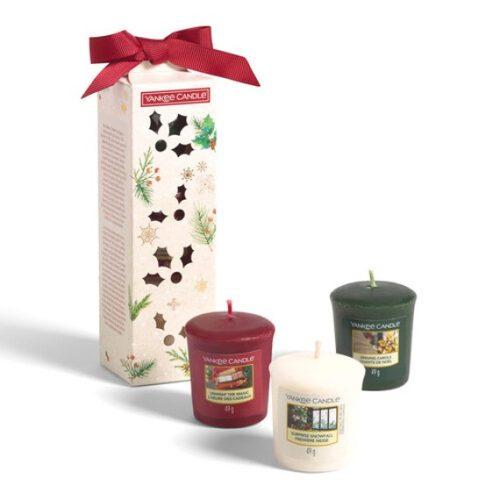 Yankee Candle 3 candele sampler