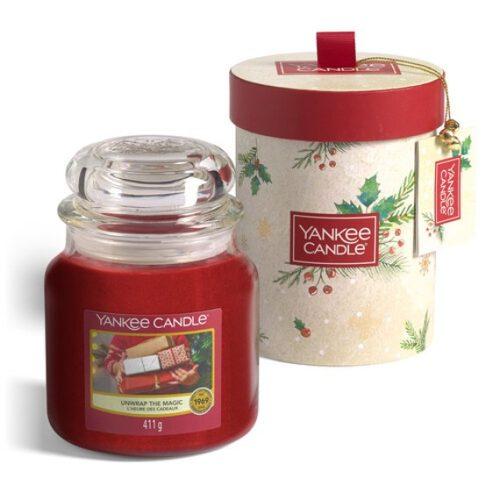 Yankee Candle Unwrap the Magic Confezione