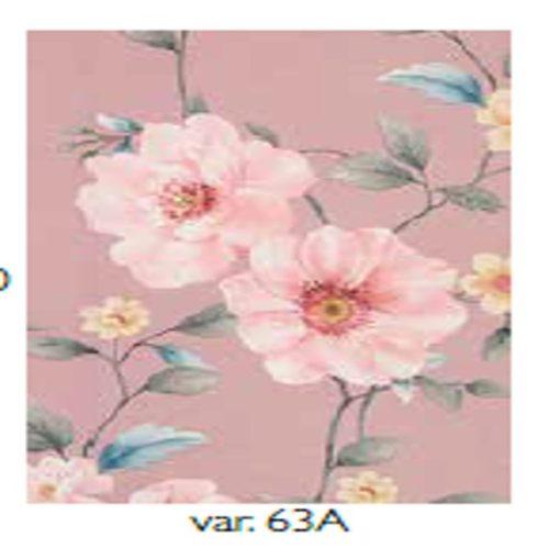 Copriletto Primavera dis. 63 col. rosa